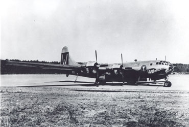 Official USAAF Photo - Courtesy AF Weather History Office