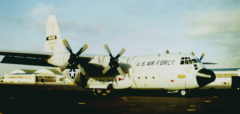 WC-130B 747 at Hickham