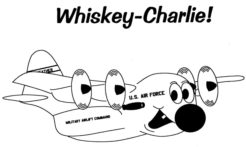 Original WC-130 Cartoon Created by Tom Robison, Copyright 2006