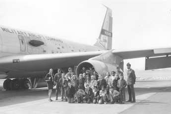 School Group at Yokota AB